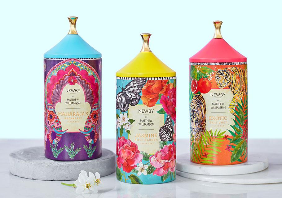 Matthew Williamson Tea Collection