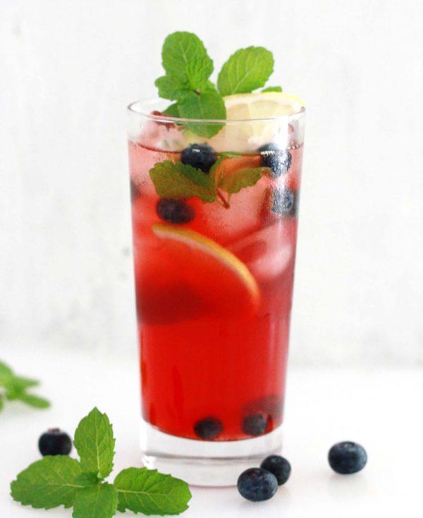 Berry Mint Ice Tea