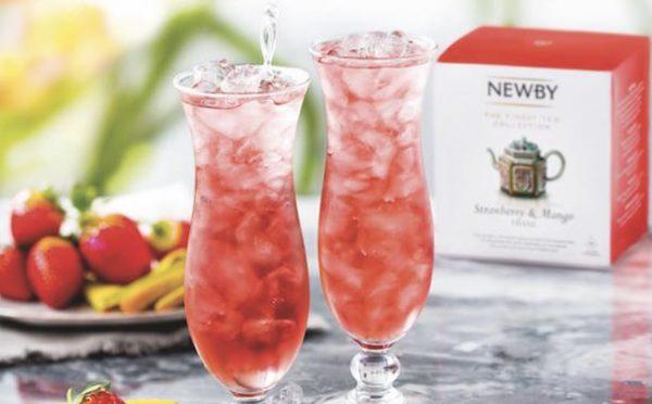 Ice Tea Strawberry Mango