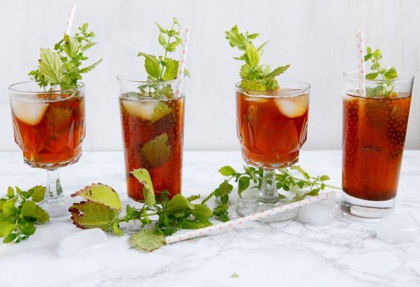 Iced+Moroccan+mint+tea+for+summer+_+freckleandfair