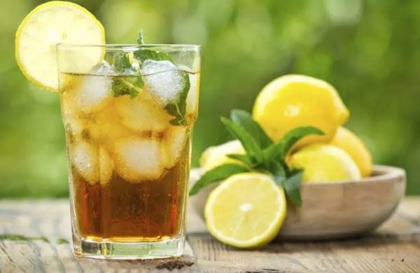 ice tea moroccan mint